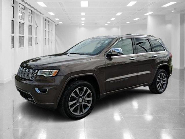 2017 Walnut Brown Metallic Clearcoat Jeep Grand Cherokee Overland Automatic 4X4 SUV Regular Unleaded V-8 5.7 L/345 Engine