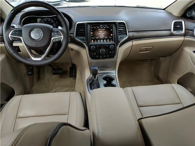 2017 Jeep Grand Cherokee Overland Automatic 4X4 4 Door