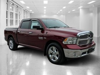 2016 Delmonico Red Pearlcoat Ram 1500 Big Horn RWD Regular Unleaded V-8 5.7 L/345 Engine 4 Door