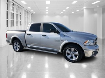 2015 Bright Silver Metallic Clearcoat Ram 1500 Outdoorsman RWD Automatic Truck Regular Unleaded V-8 5.7 L/345 Engine 4 Door