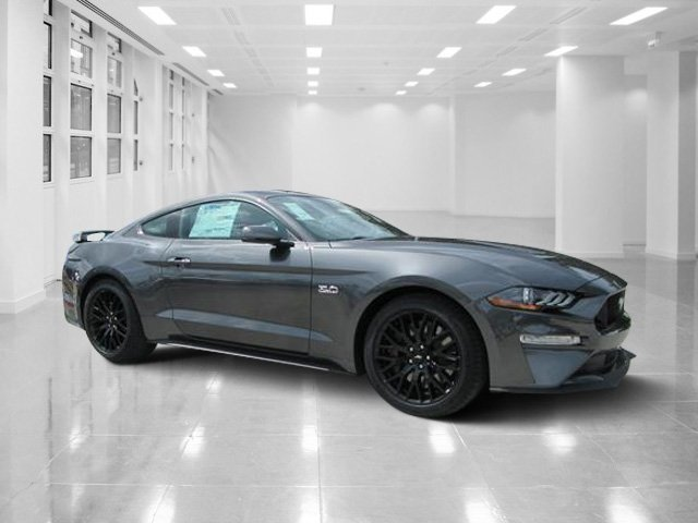 2019 Magnetic Metallic Ford Mustang GT Premium Coupe 2 Door Manual Premium Unleaded V-8 5.0 L/302 Engine