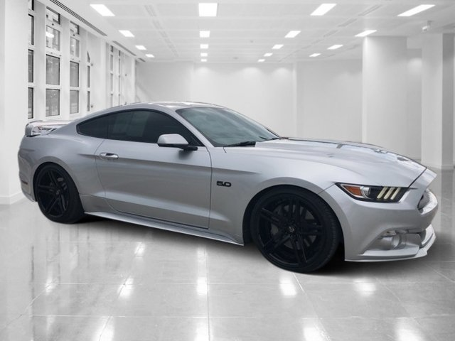 2017 Ingot Silver Metallic Ford Mustang GT Premium Premium Unleaded V-8 5.0 L/302 Engine Manual 2 Door RWD Coupe
