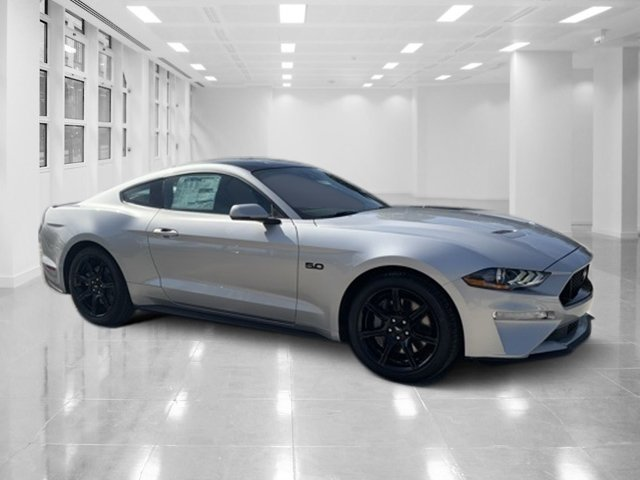 2019 Ingot Silver Metallic Ford Mustang GT Premium Manual RWD Coupe