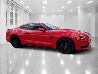 2017 Race Red Ford Mustang GT 2 Door Coupe Manual RWD Premium Unleaded V-8 5.0 L/302 Engine