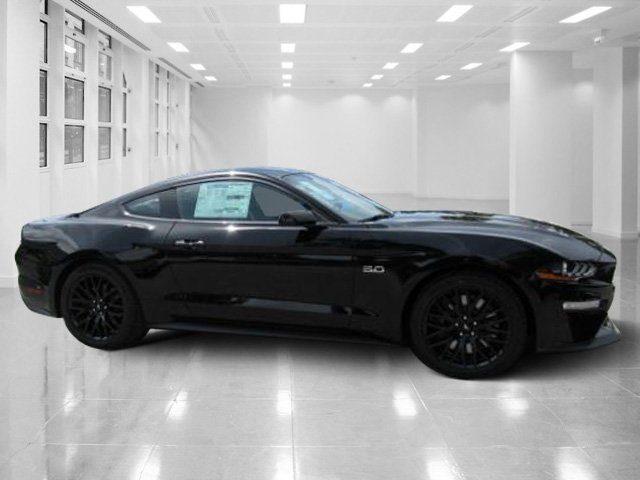 2019 Shadow Black Ford Mustang GT Coupe 2 Door Manual RWD