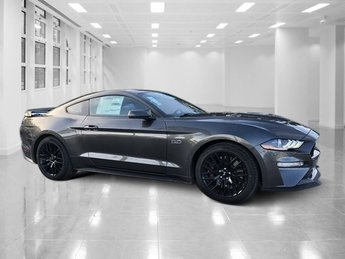 2019 Shadow Black Ford Mustang GT Premium Premium Unleaded V-8 5.0 L/302 Engine Coupe 2 Door RWD Automatic