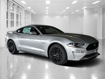 2019 Ingot Silver Metallic Ford Mustang GT Automatic Coupe Premium Unleaded V-8 5.0 L/302 Engine 2 Door RWD