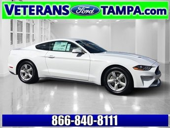2018 Oxford White Ford Mustang EcoBoost Intercooled Turbo Premium Unleaded I-4 2.3 L/140 Engine Coupe 2 Door Automatic