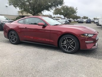 2018 Ford Mustang EcoBoost Premium 2 Door Intercooled Turbo Premium Unleaded I-4 2.3 L/140 Engine Automatic Coupe