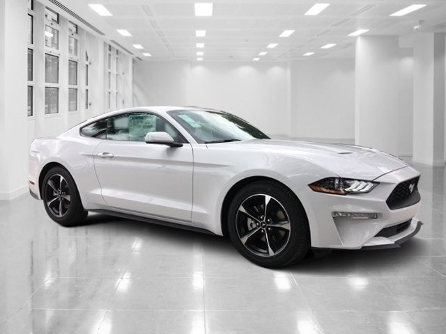 2019 Oxford White Ford Mustang EcoBoost Coupe 2 Door Automatic RWD