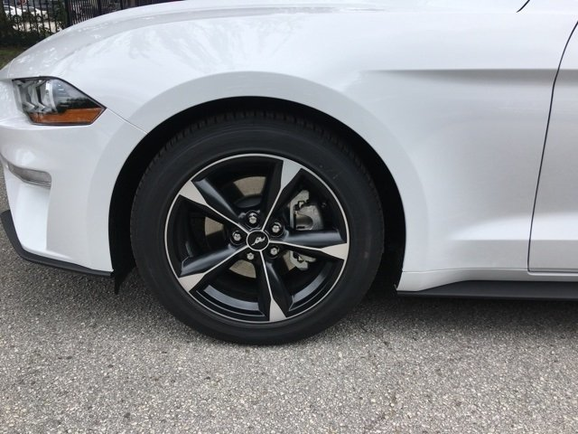 2019 Ford Mustang EcoBoost Intercooled Turbo Premium Unleaded I-4 2.3 L/140 Engine RWD 2 Door