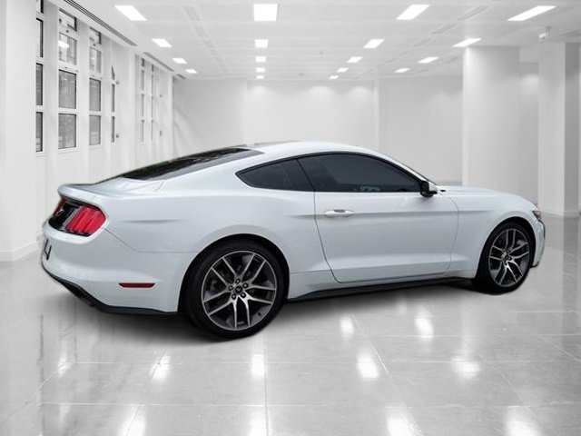 2016 Oxford White Ford Mustang EcoBoost Premium Intercooled Turbo Premium Unleaded I-4 2.3 L/140 Engine Manual 2 Door RWD Coupe