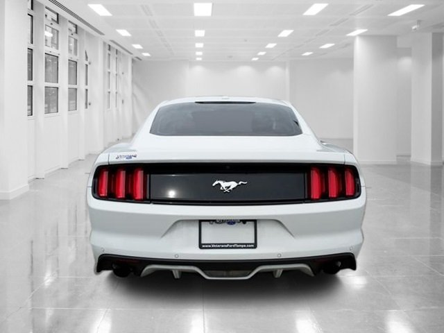 2016 Ford Mustang EcoBoost Premium RWD Coupe Intercooled Turbo Premium Unleaded I-4 2.3 L/140 Engine 2 Door Manual