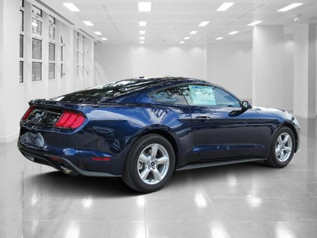 2019 Kona Blue Metallic Ford Mustang EcoBoost Coupe Automatic Intercooled Turbo Premium Unleaded I-4 2.3 L/140 Engine 2 Door