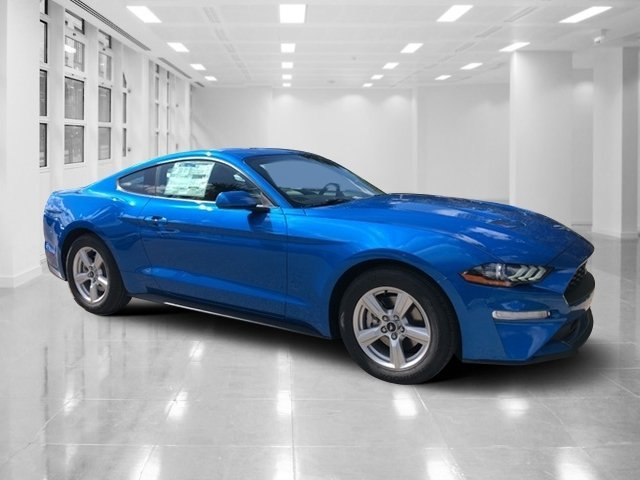 2019 Ford Mustang EcoBoost Intercooled Turbo Premium Unleaded I-4 2.3 L/140 Engine Coupe Manual RWD 2 Door