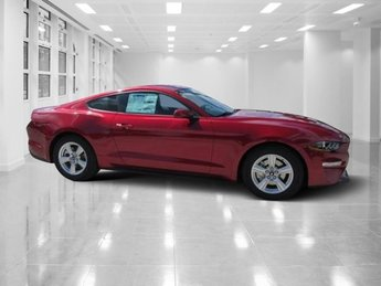 2019 Ruby Red Metallic Tinted Clearcoat Ford Mustang EcoBoost Coupe 2 Door RWD Intercooled Turbo Premium Unleaded I-4 2.3 L/140 Engine