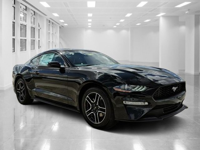 2019 Shadow Black Ford Mustang EcoBoost Premium Intercooled Turbo Premium Unleaded I-4 2.3 L/140 Engine 2 Door Coupe