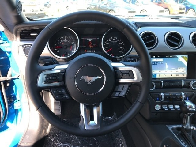 2019 Ford Mustang EcoBoost Premium Intercooled Turbo Premium Unleaded I-4 2.3 L/140 Engine Automatic RWD Coupe 2 Door