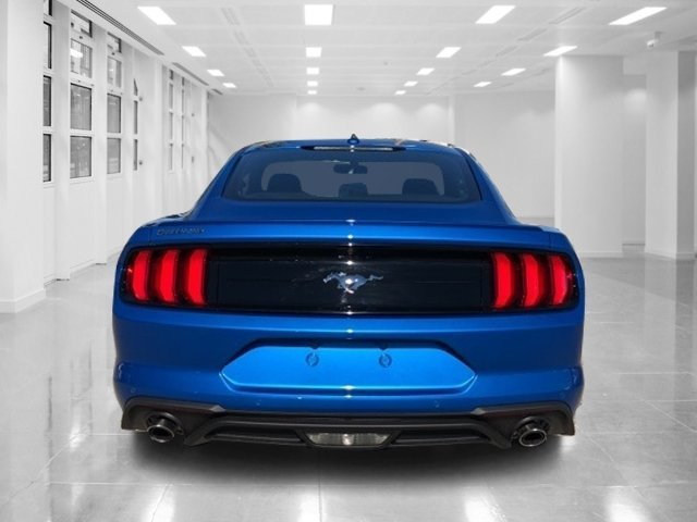 2019 Velocity Blue Metallic Ford Mustang EcoBoost Premium Automatic RWD Intercooled Turbo Premium Unleaded I-4 2.3 L/140 Engine 2 Door