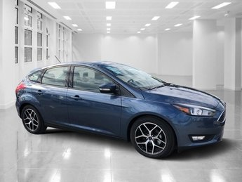 2018 Blue Metallic Ford Focus SEL Regular Unleaded I-4 2.0 L/122 Engine Automatic FWD Hatchback 4 Door