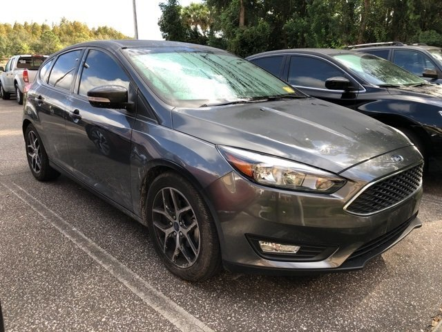 2018 Ford Focus SEL I4 Engine Hatchback FWD