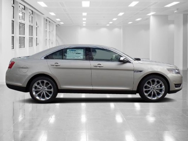 2018 White Gold Metallic Ford Taurus Limited Sedan Regular Unleaded V-6 3.5 L/213 Engine FWD Automatic