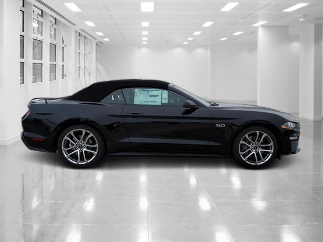 2019 Shadow Black Ford Mustang GT Premium RWD Premium Unleaded V-8 5.0 L/302 Engine 2 Door Automatic Convertible