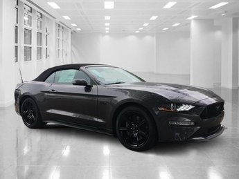 2018 Magnetic Metallic Ford Mustang GT Premium Convertible Premium Unleaded V-8 5.0 L/302 Engine 2 Door RWD Automatic