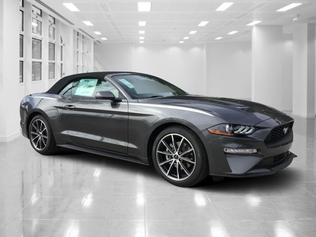 2019 Magnetic Metallic Ford Mustang EcoBoost Premium Convertible Intercooled Turbo Premium Unleaded I-4 2.3 L/140 Engine Automatic RWD