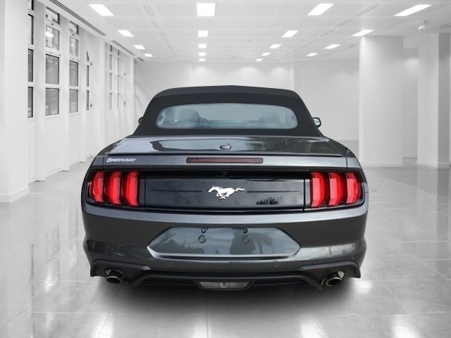 2019 Magnetic Metallic Ford Mustang EcoBoost Premium Convertible Automatic 2 Door
