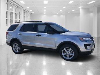 2019 Ingot Silver Metallic Ford Explorer FWD Automatic SUV 4 Door