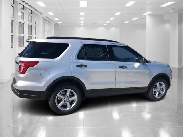 2018 Ingot Silver Metallic Ford Explorer Intercooled Turbo Premium Unleaded I-4 2.3 L/140 Engine Automatic FWD