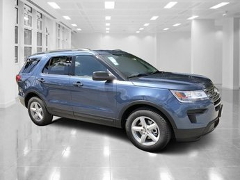 2019 Blue Metallic Ford Explorer FWD Intercooled Turbo Premium Unleaded I-4 2.3 L/140 Engine SUV 4 Door Automatic