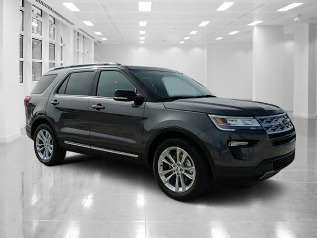 2019 Magnetic Metallic Ford Explorer XLT SUV 4 Door Regular Unleaded V-6 3.5 L/213 Engine