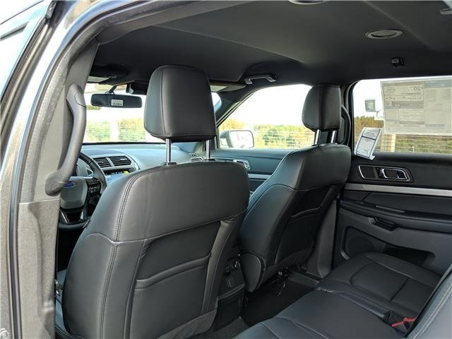 2019 Magnetic Metallic Ford Explorer XLT SUV 4 Door Automatic