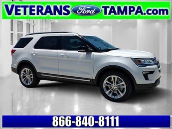 2018 Ford Explorer XLT SUV 4 Door FWD Regular Unleaded V-6 3.5 L/213 Engine