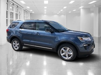 2019 Blue Metallic Ford Explorer XLT SUV Regular Unleaded V-6 3.5 L/213 Engine 4 Door FWD Automatic