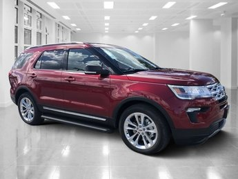 2019 Ruby Red Metallic Tinted Clearcoat Ford Explorer XLT Regular Unleaded V-6 3.5 L/213 Engine Automatic 4 Door FWD