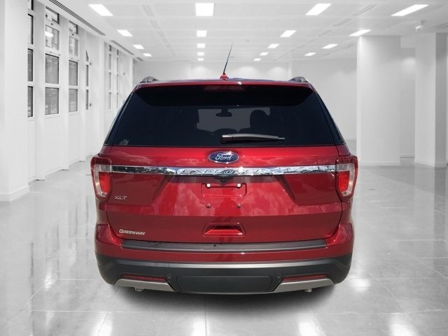2019 Ruby Red Metallic Tinted Clearcoat Ford Explorer XLT Regular Unleaded V-6 3.5 L/213 Engine 4 Door Automatic SUV FWD