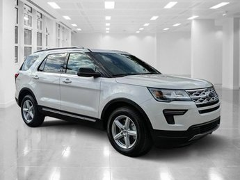 2019 White Ford Explorer XLT Automatic FWD SUV