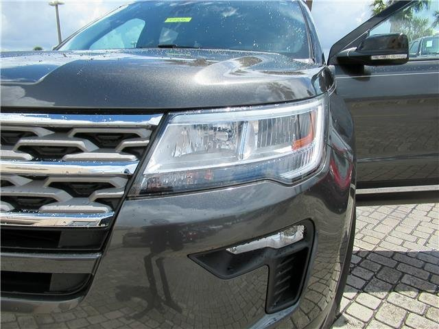 2018 Magnetic Metallic Ford Explorer XLT Intercooled Turbo Premium Unleaded I-4 2.3 L/140 Engine FWD 4 Door SUV