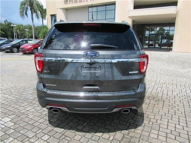 2018 Magnetic Metallic Ford Explorer XLT Automatic SUV Intercooled Turbo Premium Unleaded I-4 2.3 L/140 Engine FWD