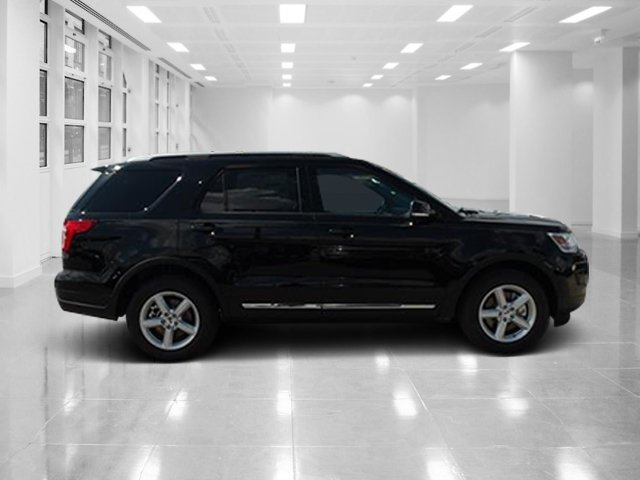 2018 Shadow Black Ford Explorer XLT FWD SUV Intercooled Turbo Premium Unleaded I-4 2.3 L/140 Engine 4 Door