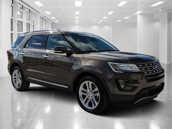 2016 Caribou Metallic Ford Explorer Limited 4 Door Regular Unleaded V-6 3.5 L/213 Engine Automatic FWD SUV