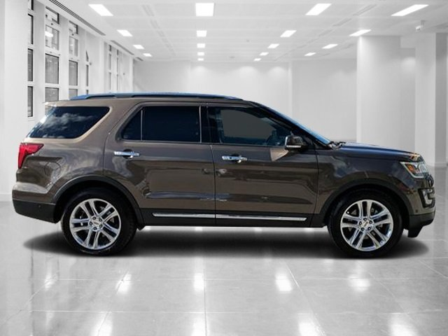 2016 Caribou Metallic Ford Explorer Limited 4 Door FWD Regular Unleaded V-6 3.5 L/213 Engine SUV Automatic