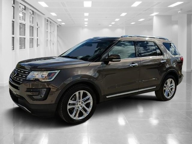 2016 Caribou Metallic Ford Explorer Limited Automatic Regular Unleaded V-6 3.5 L/213 Engine SUV 4 Door