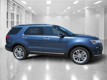 2018 Ford Explorer Limited 4 Door Intercooled Turbo Premium Unleaded I-4 2.3 L/140 Engine FWD Automatic