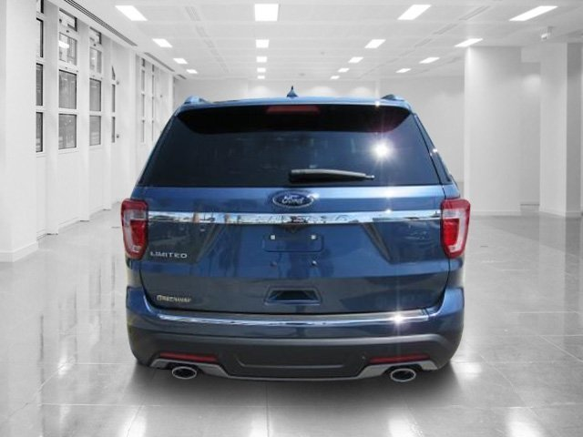 2018 Blue Metallic Ford Explorer Limited 4 Door SUV Intercooled Turbo Premium Unleaded I-4 2.3 L/140 Engine