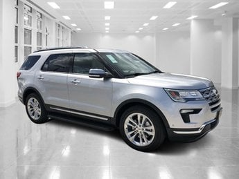2018 Ingot Silver Metallic Ford Explorer Limited FWD Intercooled Turbo Premium Unleaded I-4 2.3 L/140 Engine SUV