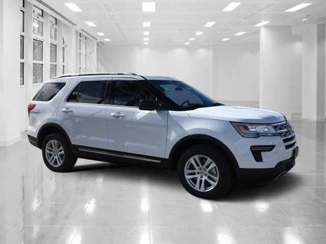 2019 Oxford White Ford Explorer XLT AWD 4 Door SUV Regular Unleaded V-6 3.5 L/213 Engine Automatic